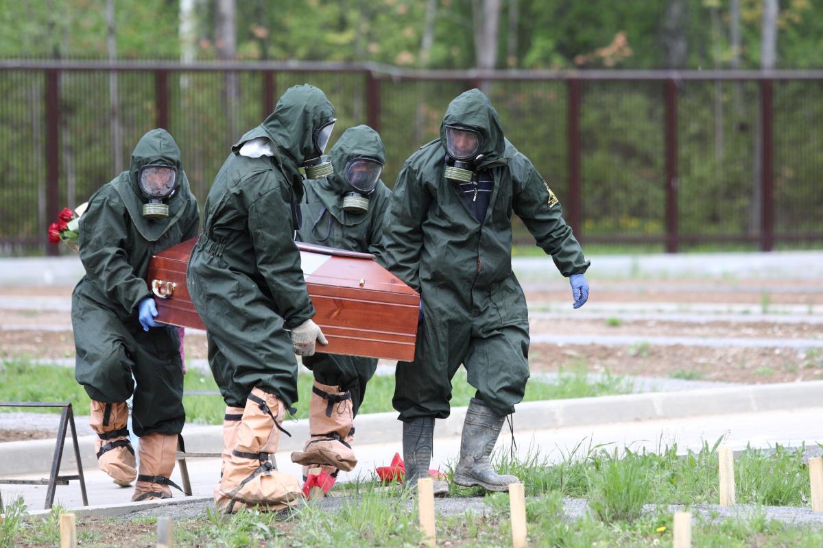 В России коронавирус мутирует / Ілюстрація REUTERS