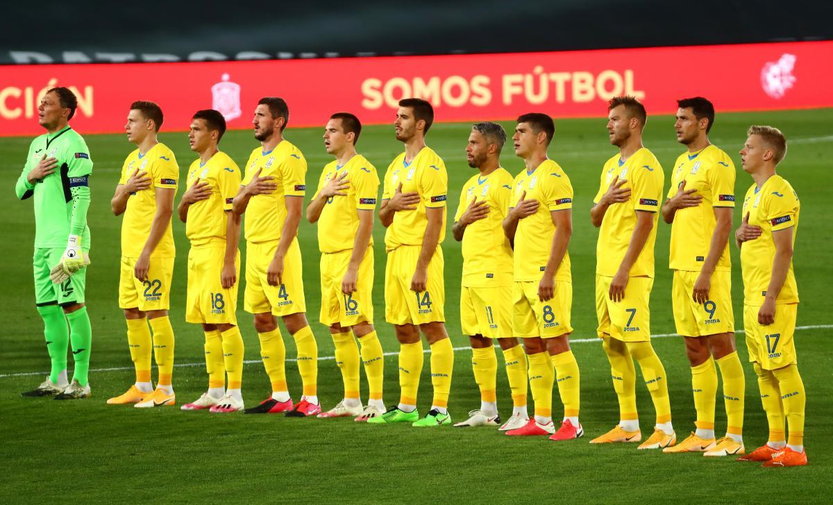 Ukraine's national team / REUTERS