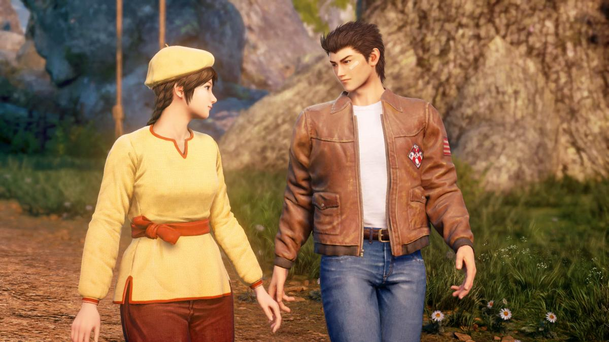 Третья часть Shenmue вышла в 2019 году / фото store.playstation.com