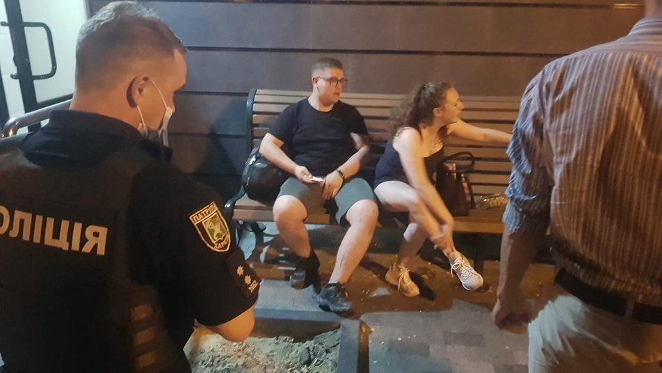 У Харкові охорона парку побила студентів / фото suspilne.media