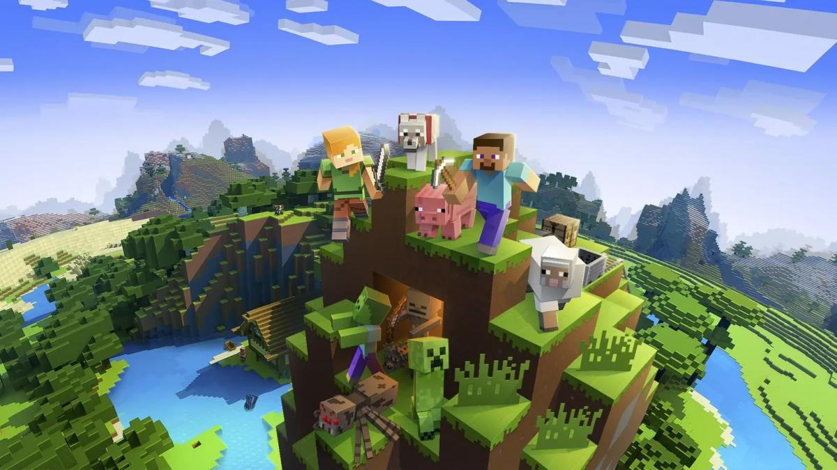 Minecraft отримає підтримку шоломів PS VR / фото Mojang Studios