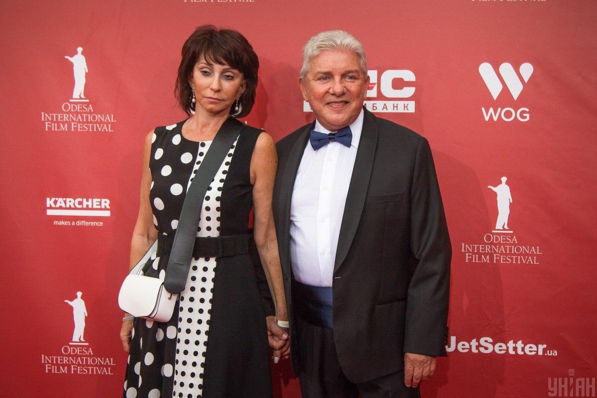 Олег Филимонов с супругой Ларисой / фото УНИАН
