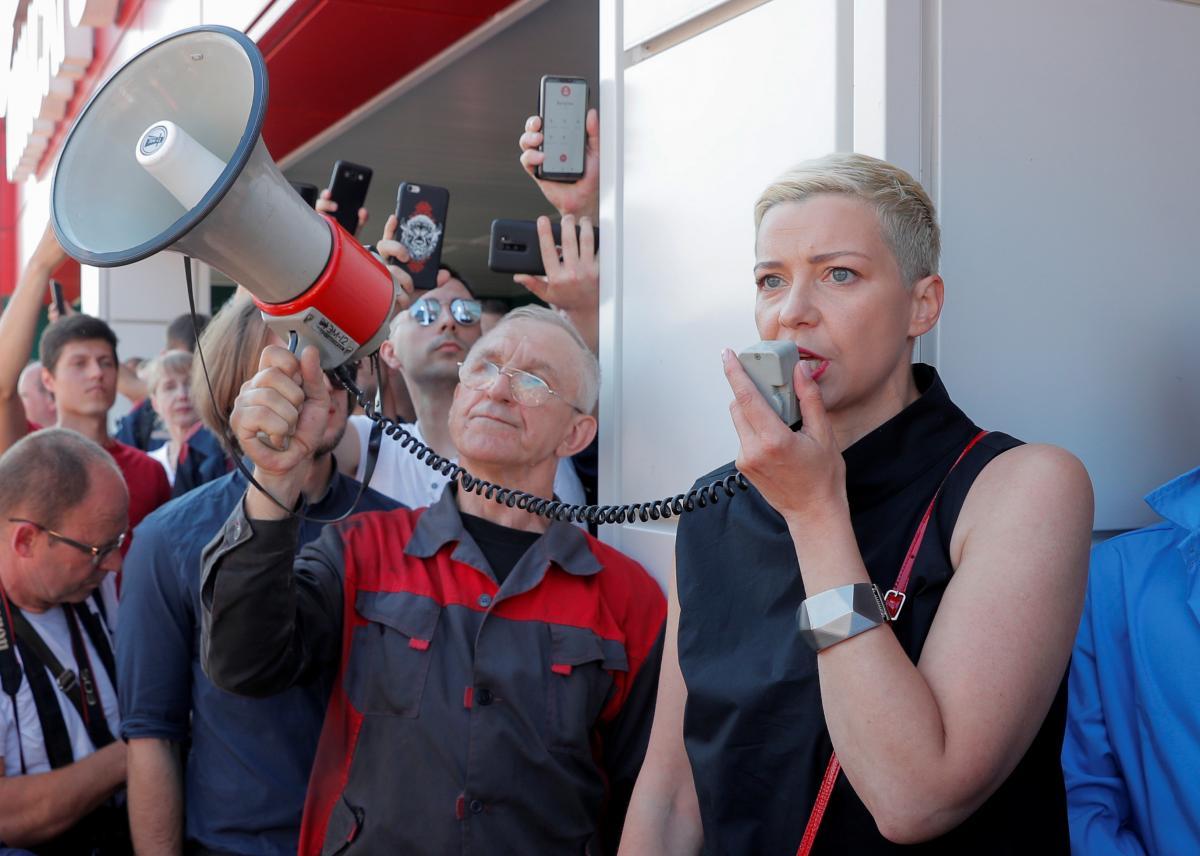 Колесникова не въезжала в Украину / фото REUTERS