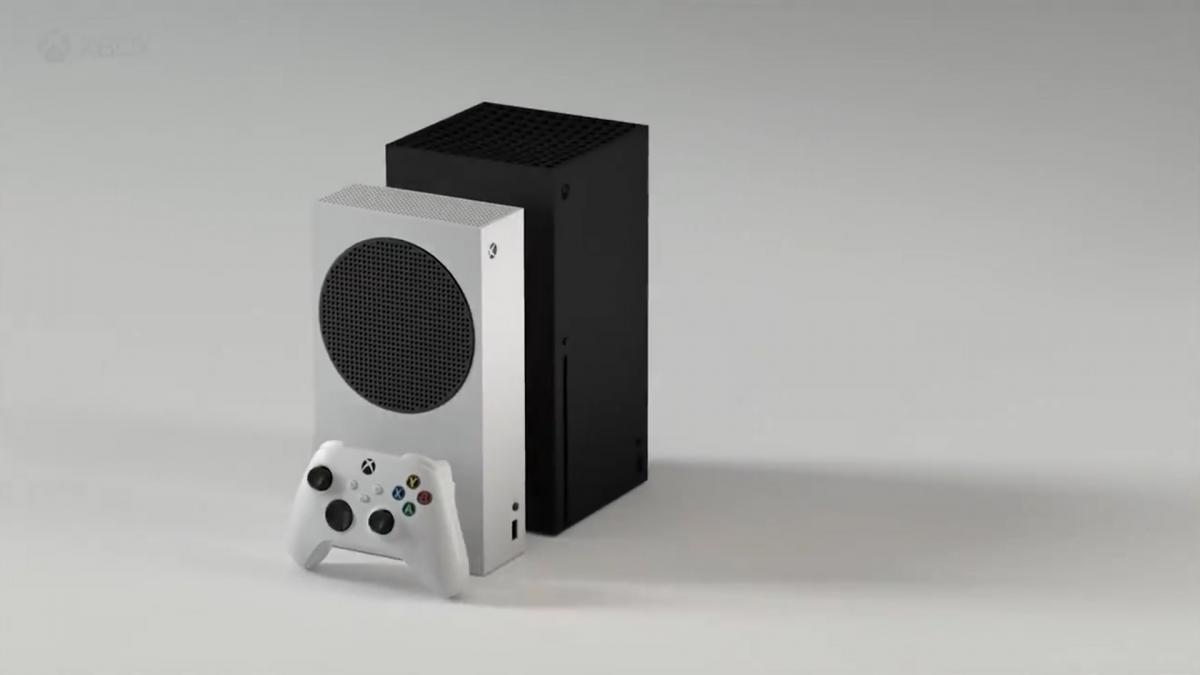 Дизайн Xbox Sreries S в сравнении с Series X / фото twitter.com/_h0x0d_