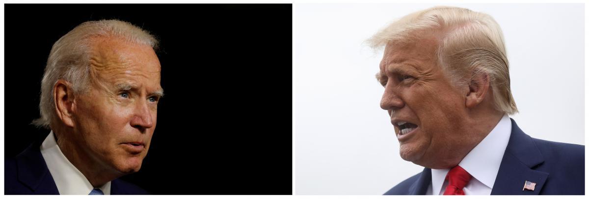 ДжоБайден и Дональд Трамп / REUTERS