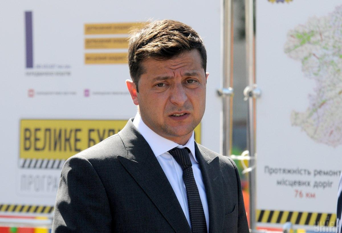 Зеленский отреагировал на ситуацию вокруг процесса избрания главы САП / фото УНИАН, Андрей Мариенко