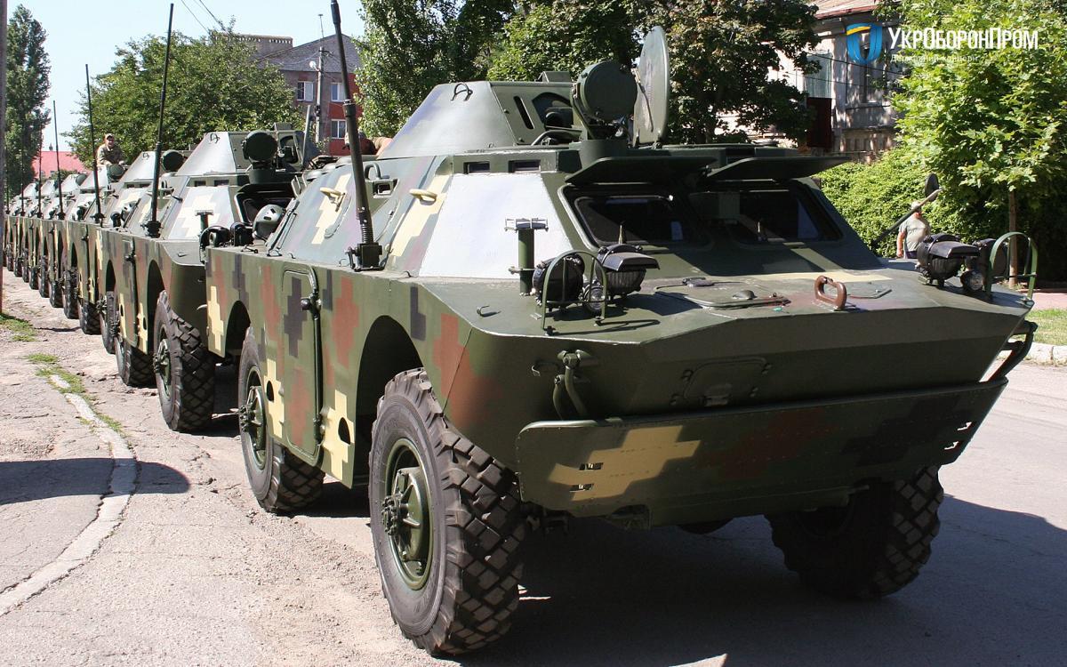БРДМ-2 находится на вооружении ВСУ / фото Укроборонпром