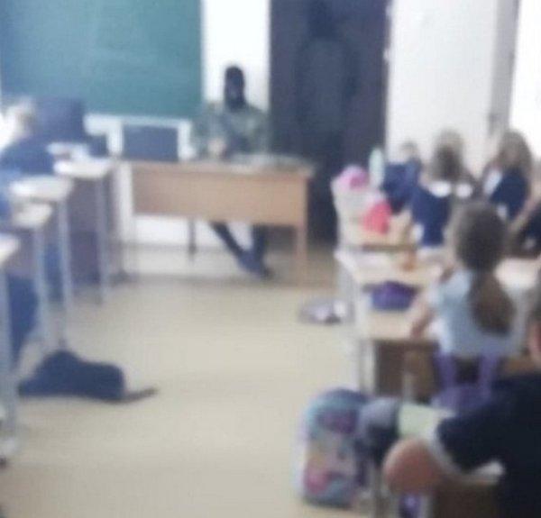 4 сентября в школе №2 на уроке ОБЖ