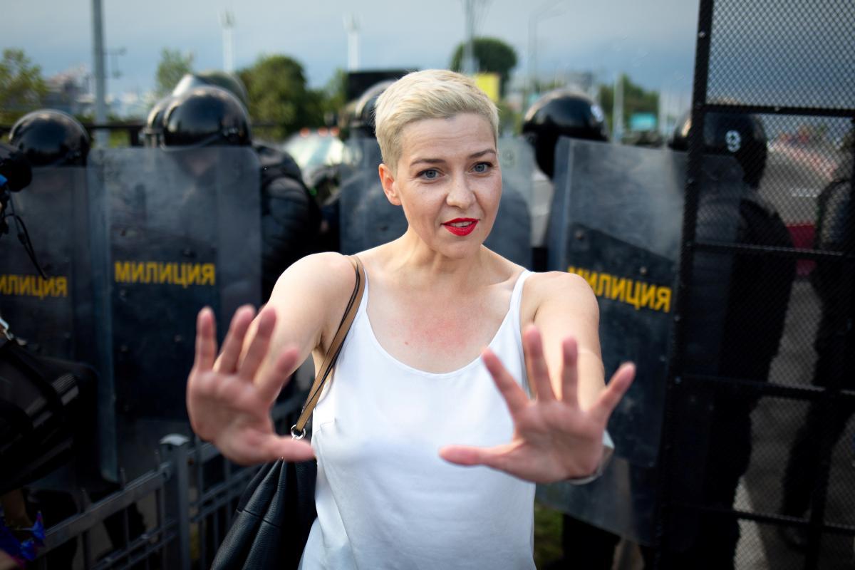 На данный момент Колесникова содержится под стражей/ Фото: REUTERS