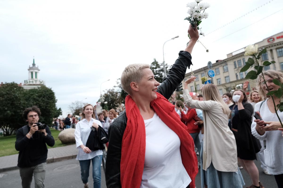 Лідер білоруської опозиції Марія Колеснікова / REUTERS