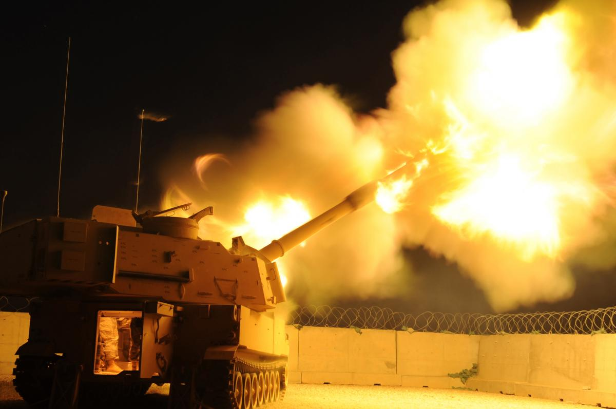 Американские военные смогли поразить воздушную цель артиллерийским снарядом / Wikipedia