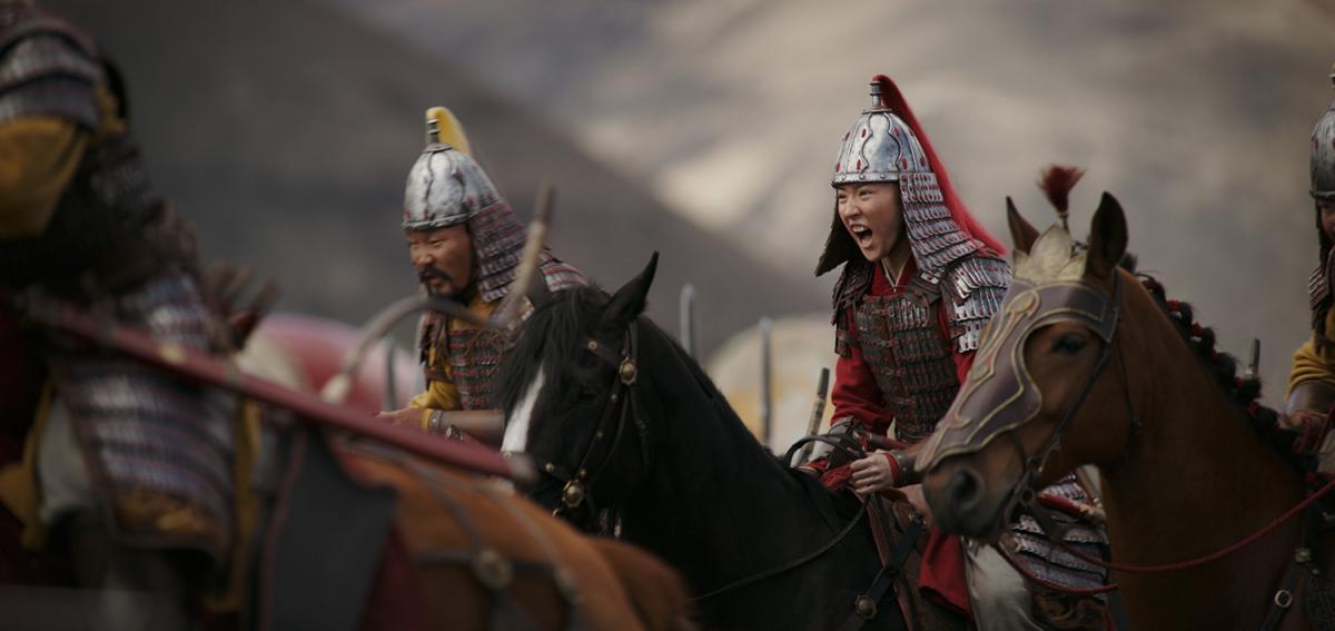 Кадр з фільму «Мулан»