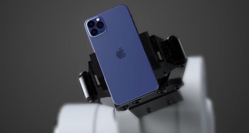 Концепт нового iPhone 12 в темно-синьому кольорі / фото Twitter iPLUGNG