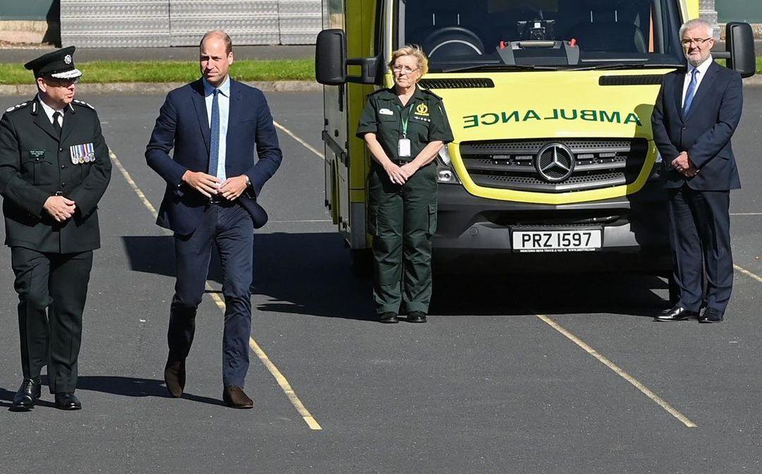 Принц Вільям у робочій поїздці / фото instagram.com/kensingtonroyal/