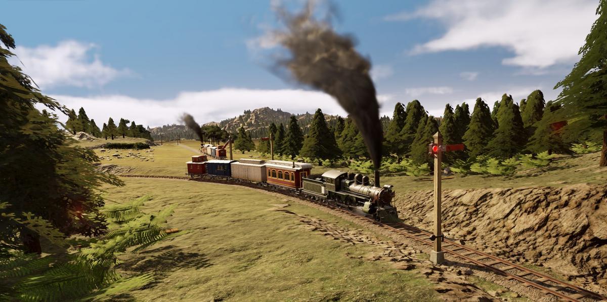 Стратегія про будівництво залізниць / скріншот