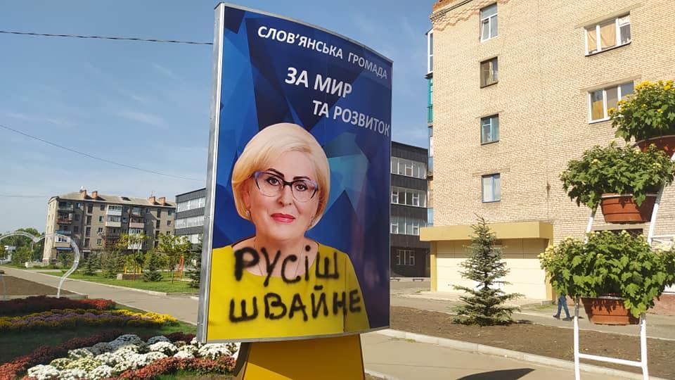 Неля Штепа обвинена в посягательстве на территориальную целостность Украины / Facebook, Александр славянец