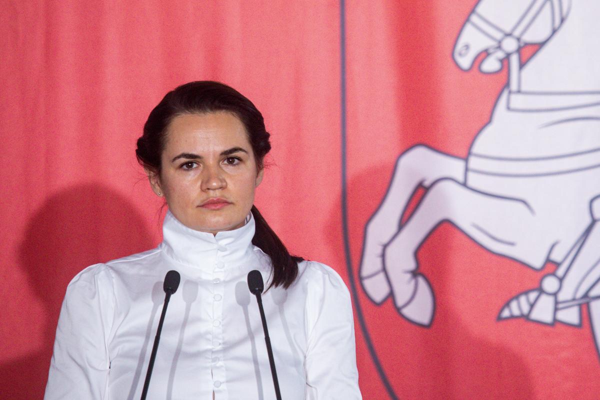 Тихановская обратилась к беларусам  / Фото: REUTERS