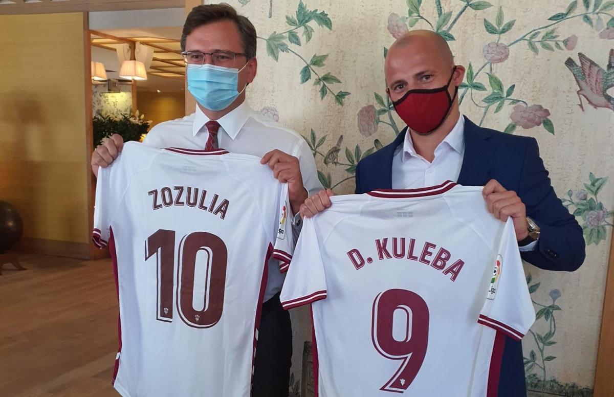 Дмитрий Кулеба и Роман Зозуля / фото twitter.com/AlbaceteBPSAD