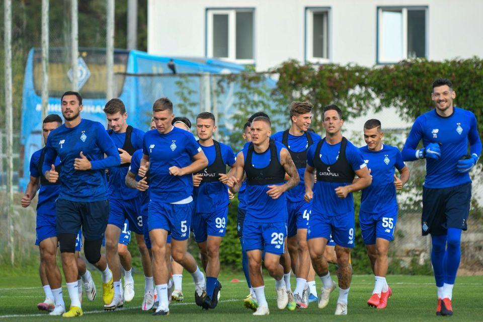 Динамо стартує в кваліфікації ЛЧ 15 Вересня / фото Динамо Київ