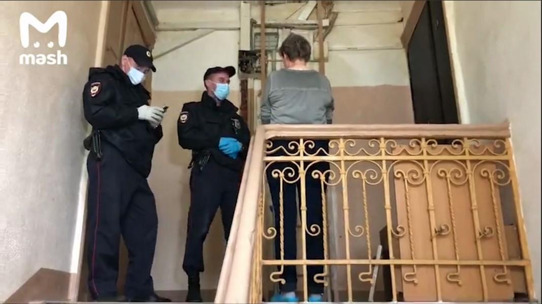 Жителей аварийного дома эвакуировали/ скриншот из видео