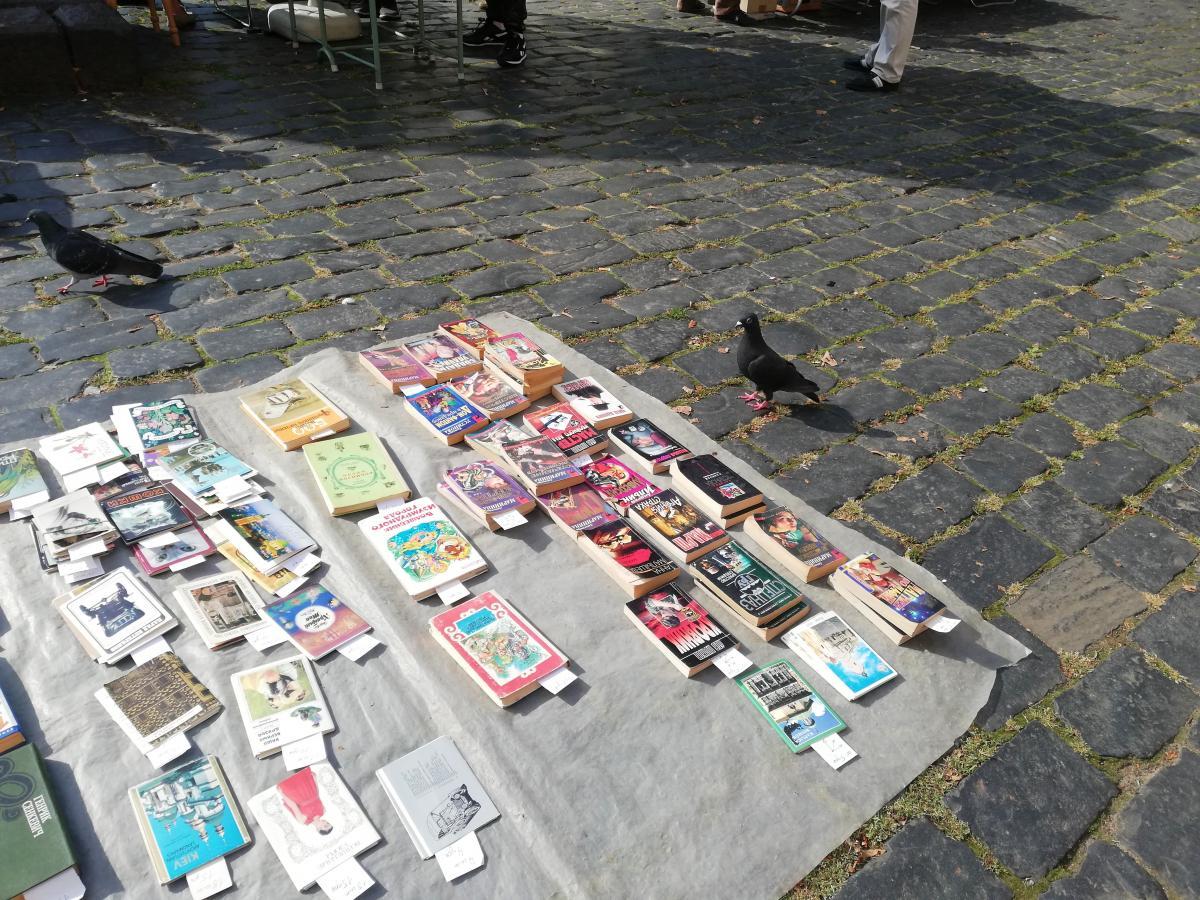 Знаменитий львівський книжковий ринок на Музейній / фото Марина Григоренко