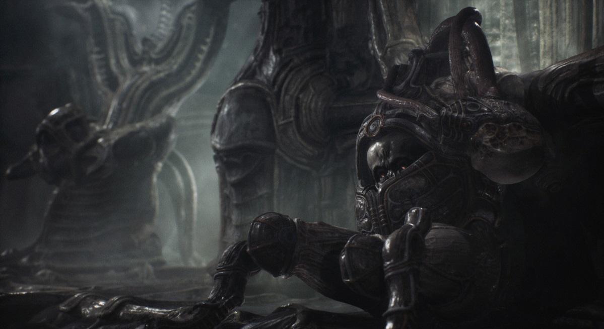 Кадры из игры Scorn / фото gamereactor.eu