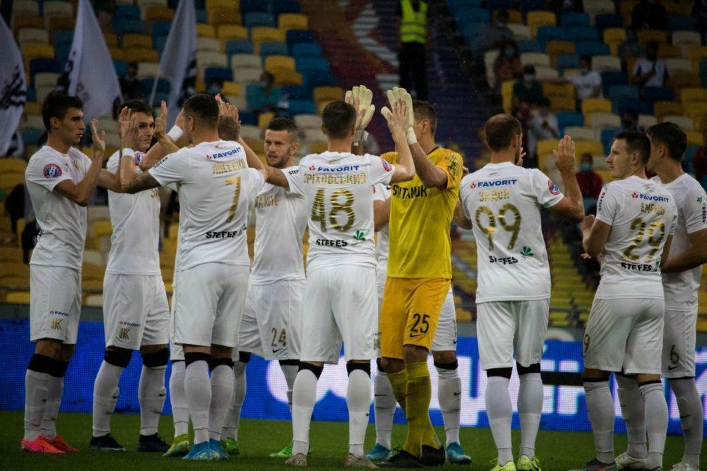 Колос открыл стадион яркой победой / фото koloskovalivka.com
