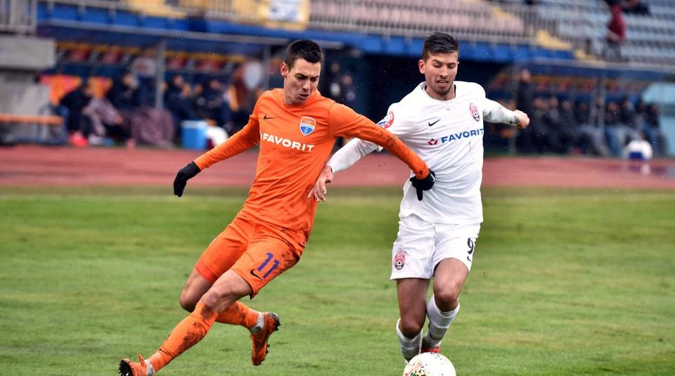 Команди провели матч у Запоріжжі / фото ФК Маріуполь