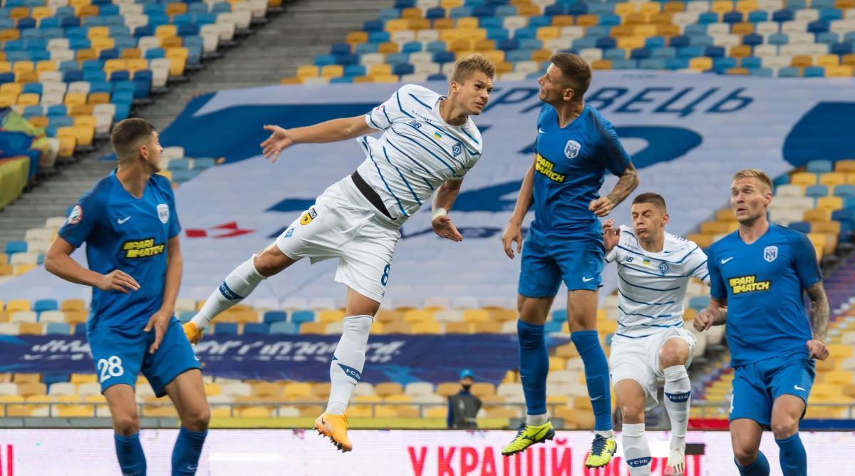 Динамо не смогло обыграть Десну / фото facebook.com/fcdynamoua