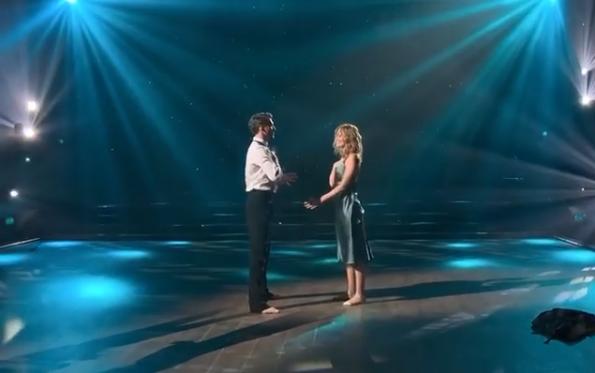 В этом выпуске танцевальное шоу покинула Слава Каминская и ее партнер Дмитрий Дикусар / скриншот