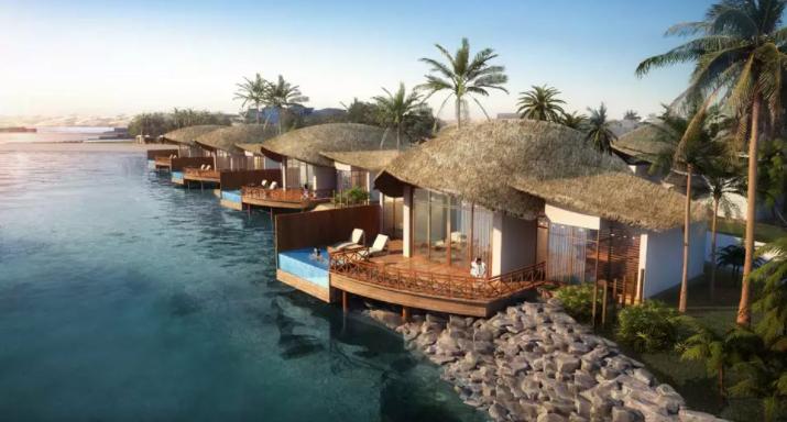 У курорта на 300 номеров люксов и вилл будет собственный пляж \ anantara.com
