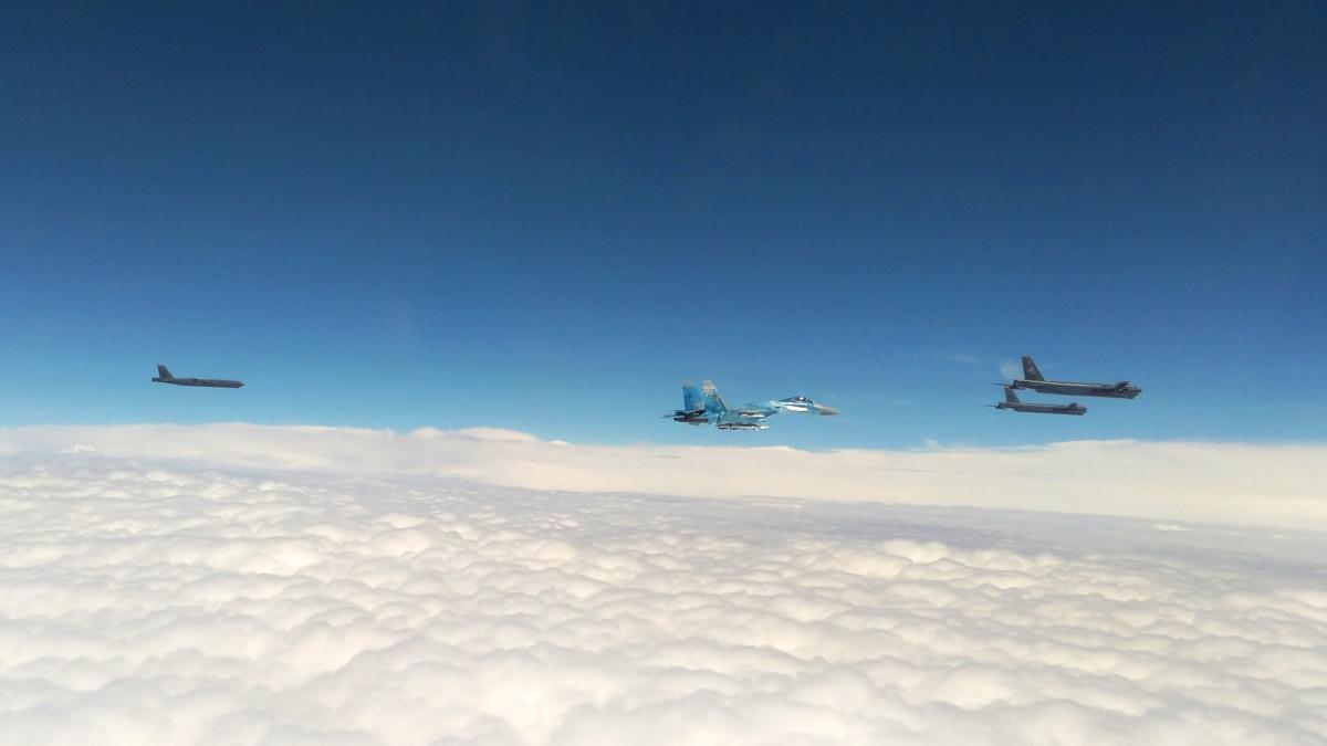 Над Украиной пролетели B-52 / фото facebook.com/kpszsu