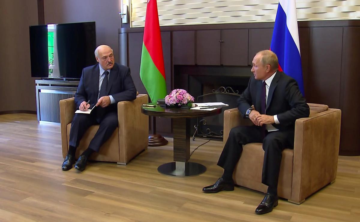 Лукашенко встретился с Путиным в Сочи / REUTERS