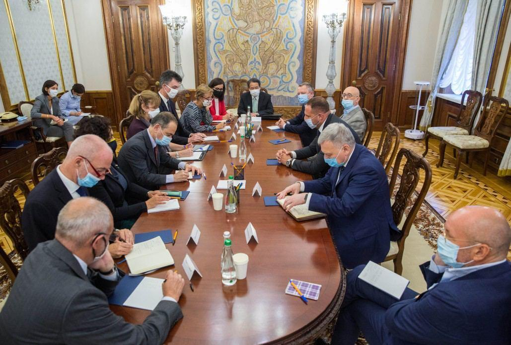 Yermak meets with G7 Ambassadors / Photo by the President's Office