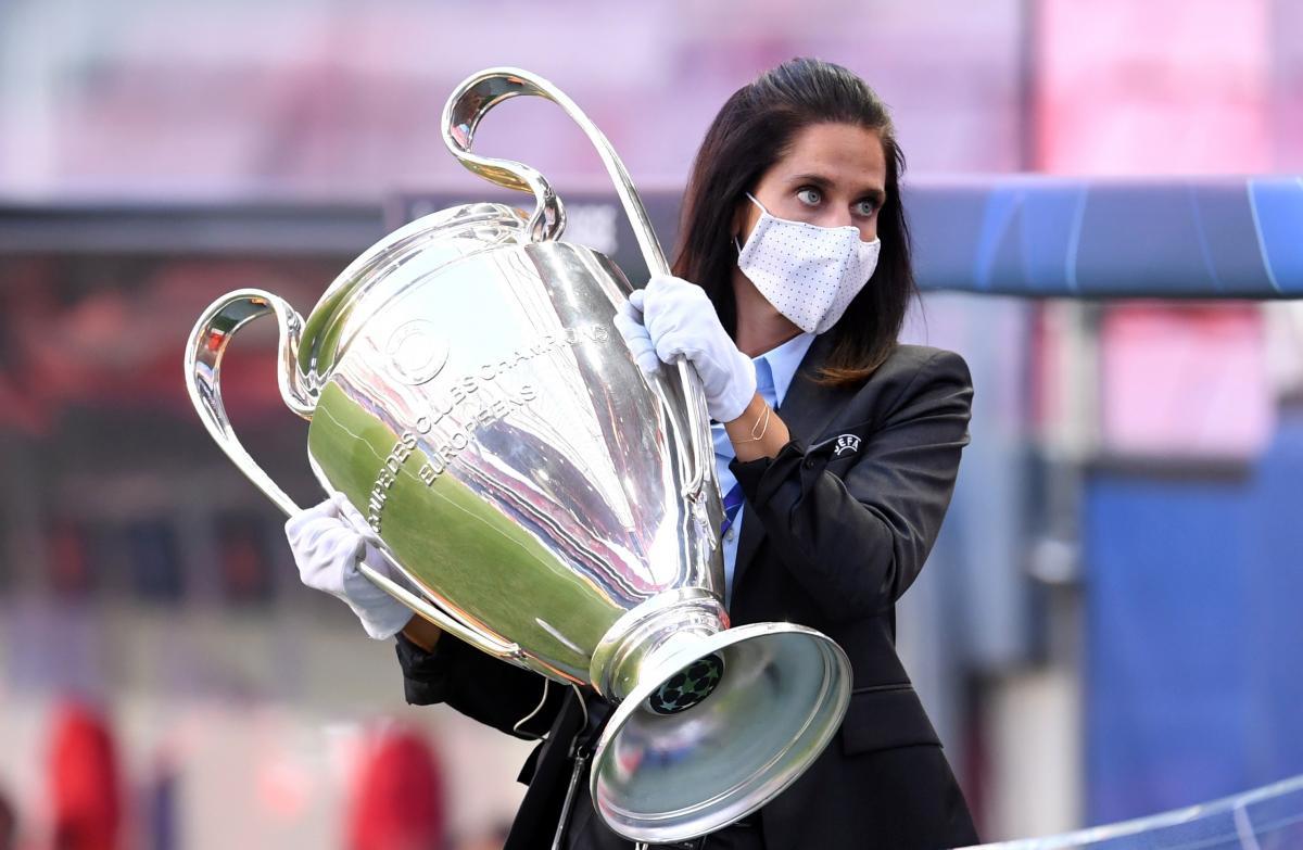 Трофей Ліги чемпіонів / фото REUTERS
