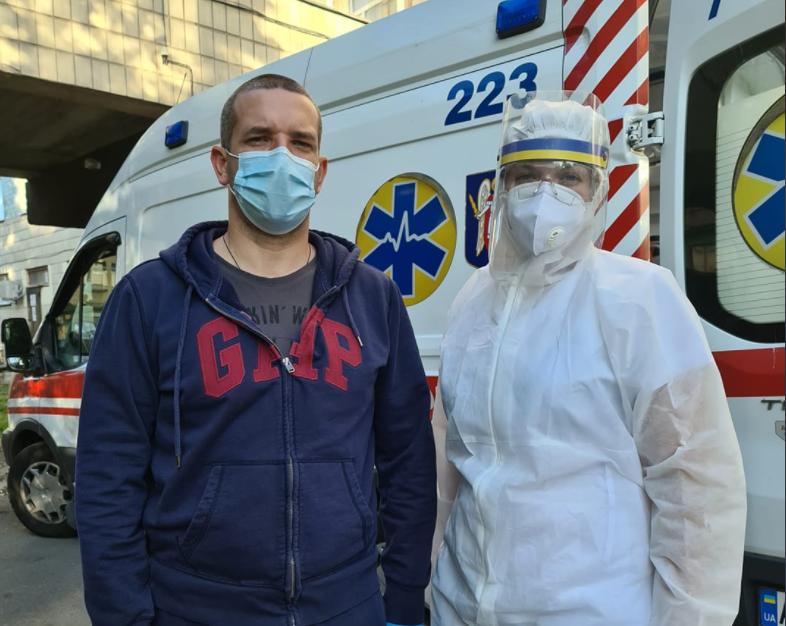 Глава Николаевской ОГА Александр Стадник в больнице с коронавирусом / Facebook, Александр Стадник