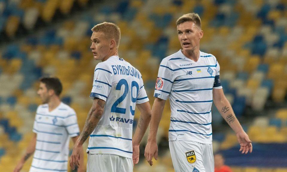 Виталий Буяльский и Сергей Сидорчук / фото Динамо Киев