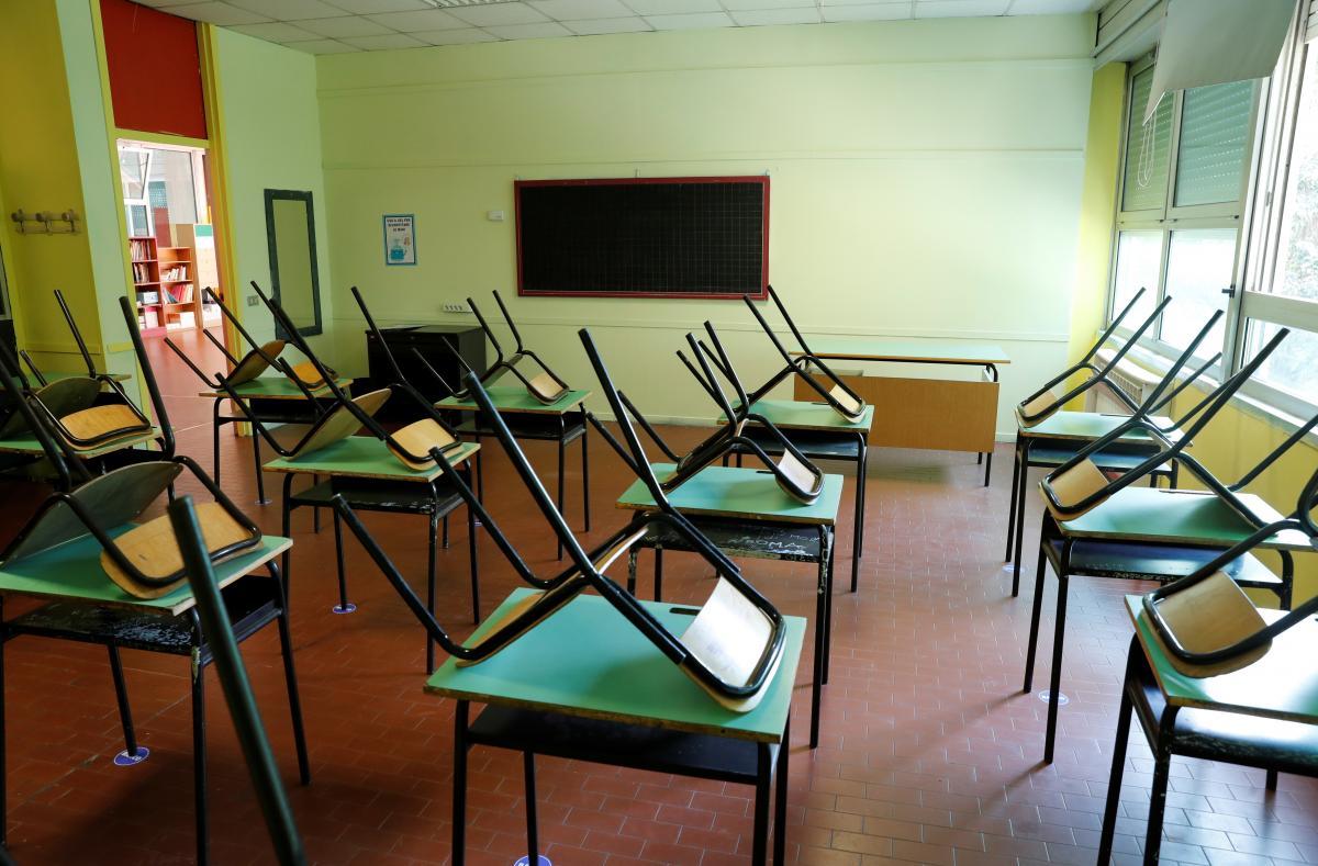 Столичные школы после зимних каникул будут работать в дистанционном режиме / фото REUTERS