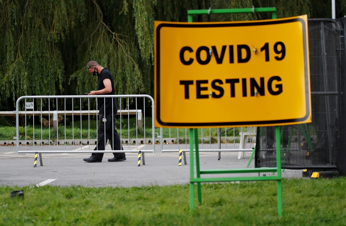 A COVID-19 update as of Sept 27 / REUTERS