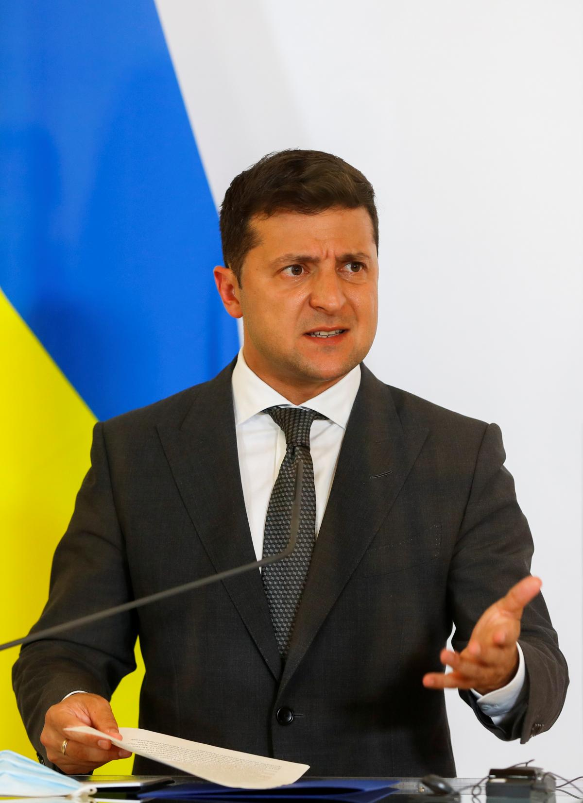 Zelensky announces this at a meeting with Austria's Federal Chancellor / REUTERS