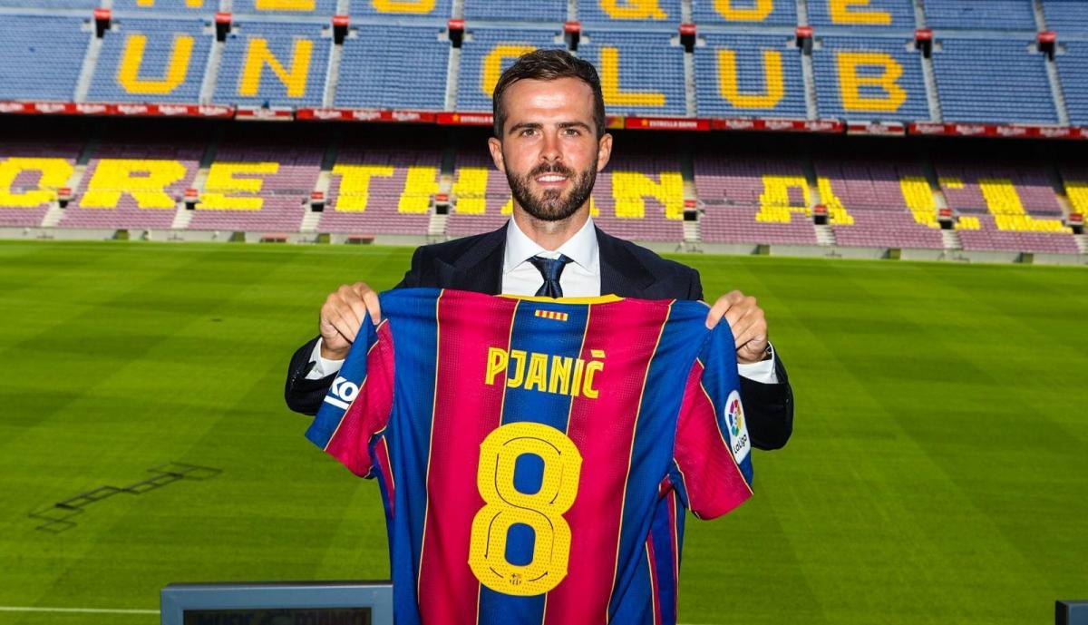 П'яніч приєднався до Барселони / фото twitter.com/FCBarcelona