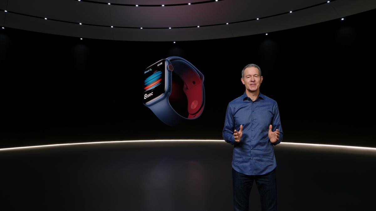Apple представили новые часы Series 6 / фото REUTERS