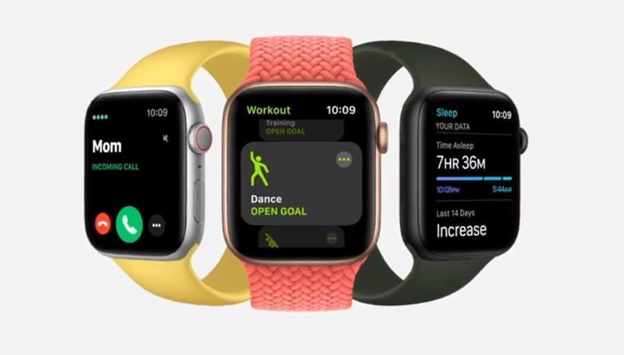 У Apple Watch SEнемає постійно працюючого екрану / скріншот з презентації