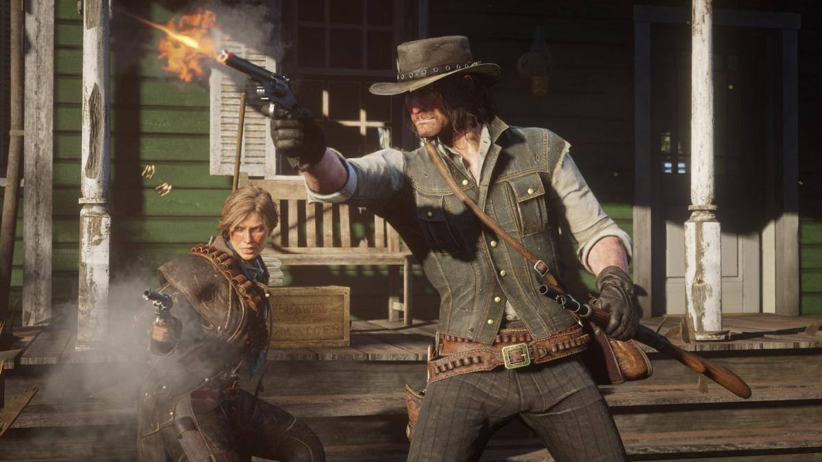 Кадр из игры Red Dead Redemption 2 /фото store.playstation.com
