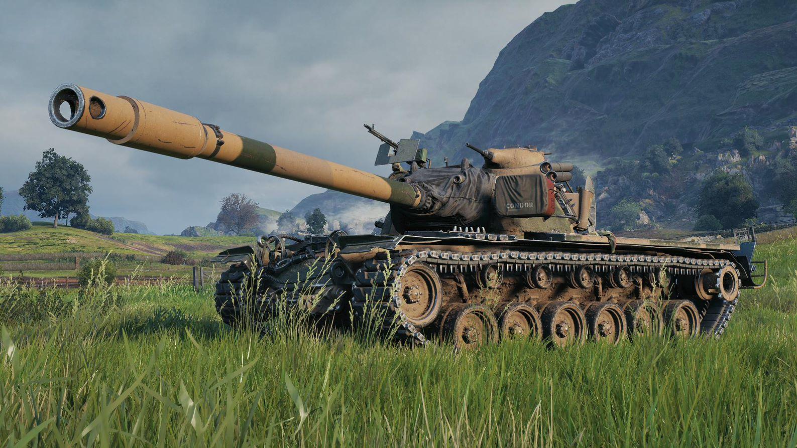 Американський важкий танк T110E5 стане ключовою машиною нового сезону в World of Tanks / фото wargaming.net