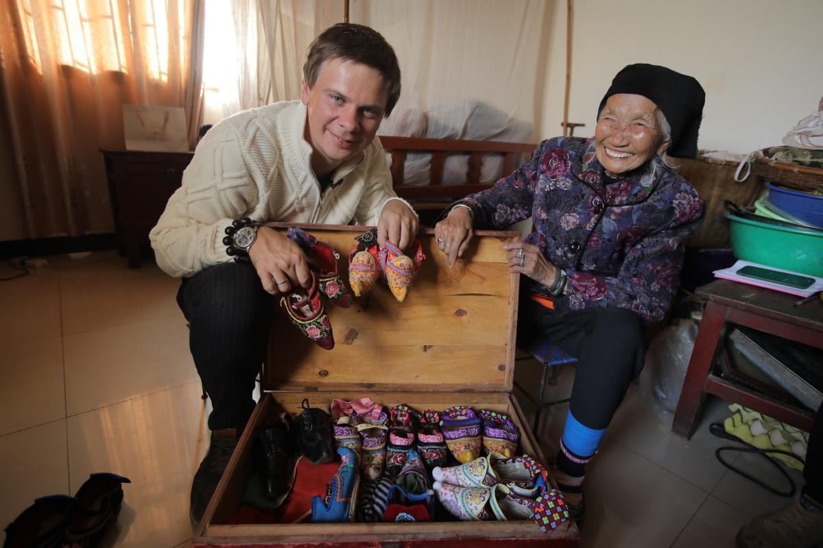 Дмитрий Комаров в Китае / фото пресс-службы 1+1