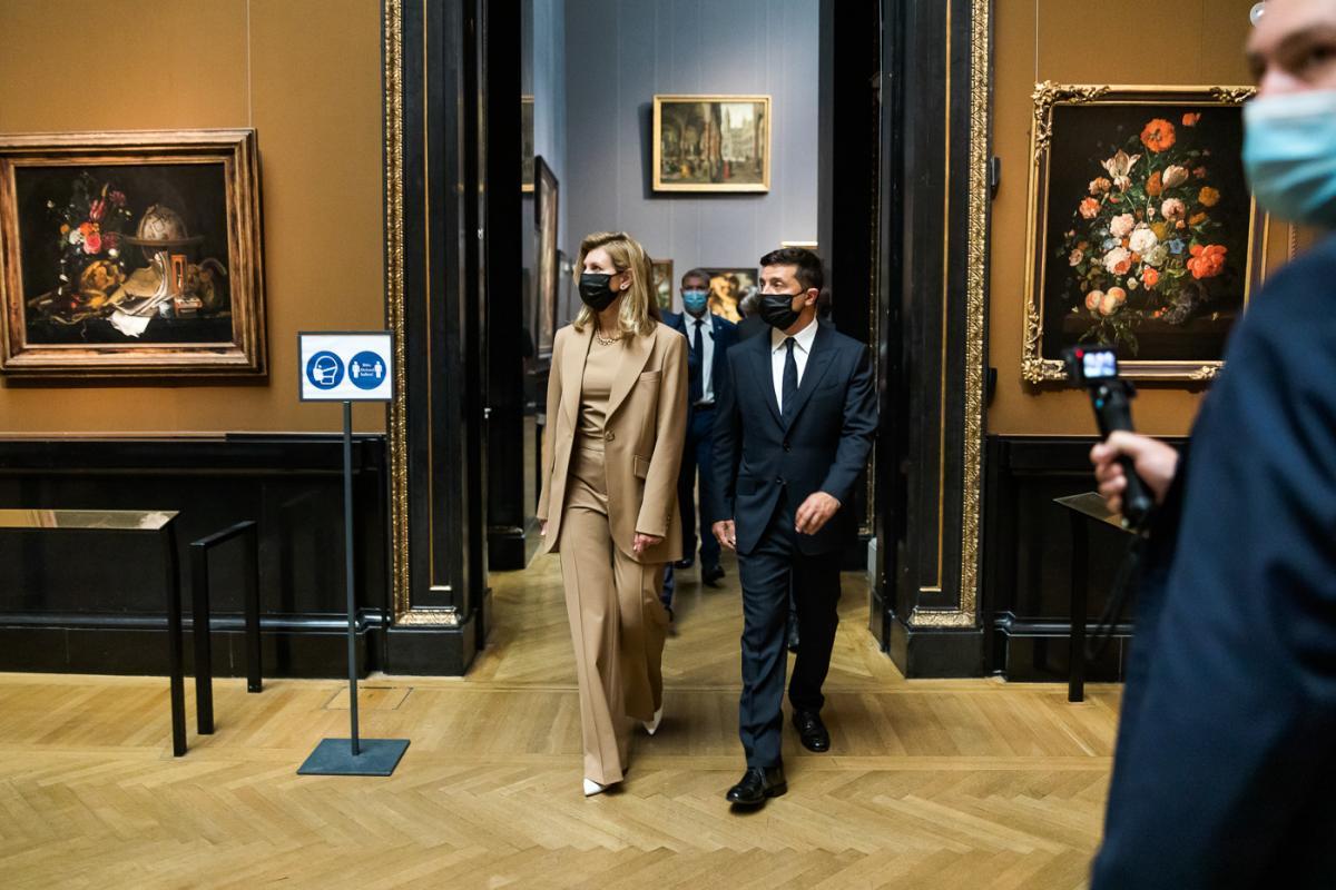 Аудиогид на украинском языке появился в Музее истории искусств в Вене / фото president.gov.ua