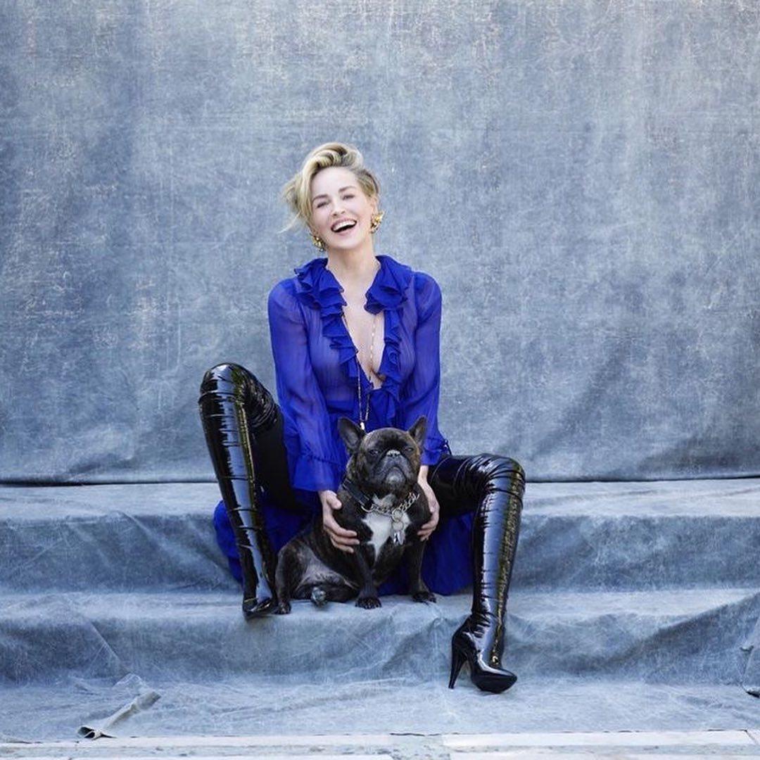Актриса показала фото / instagram.com/sharonstone