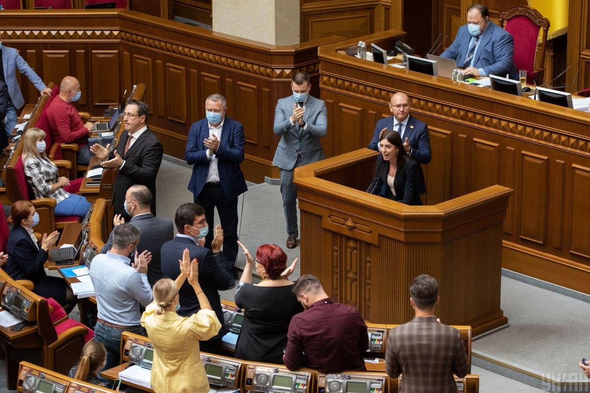 Депутаты удивили образами / фото УНИАН