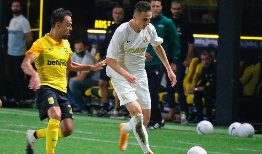 Колос обыграл Арис в первом матче на евроарене / фото Колос